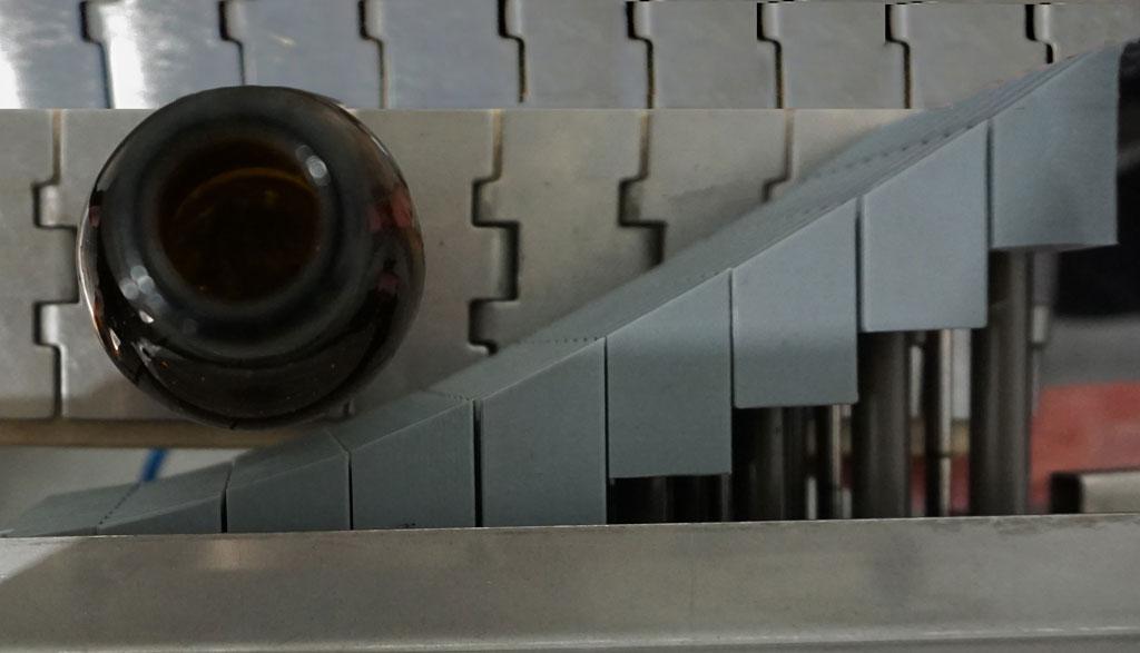 desviador por segmentos para botellas