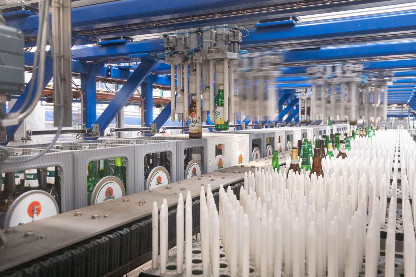 sorting roboter holsten brewery