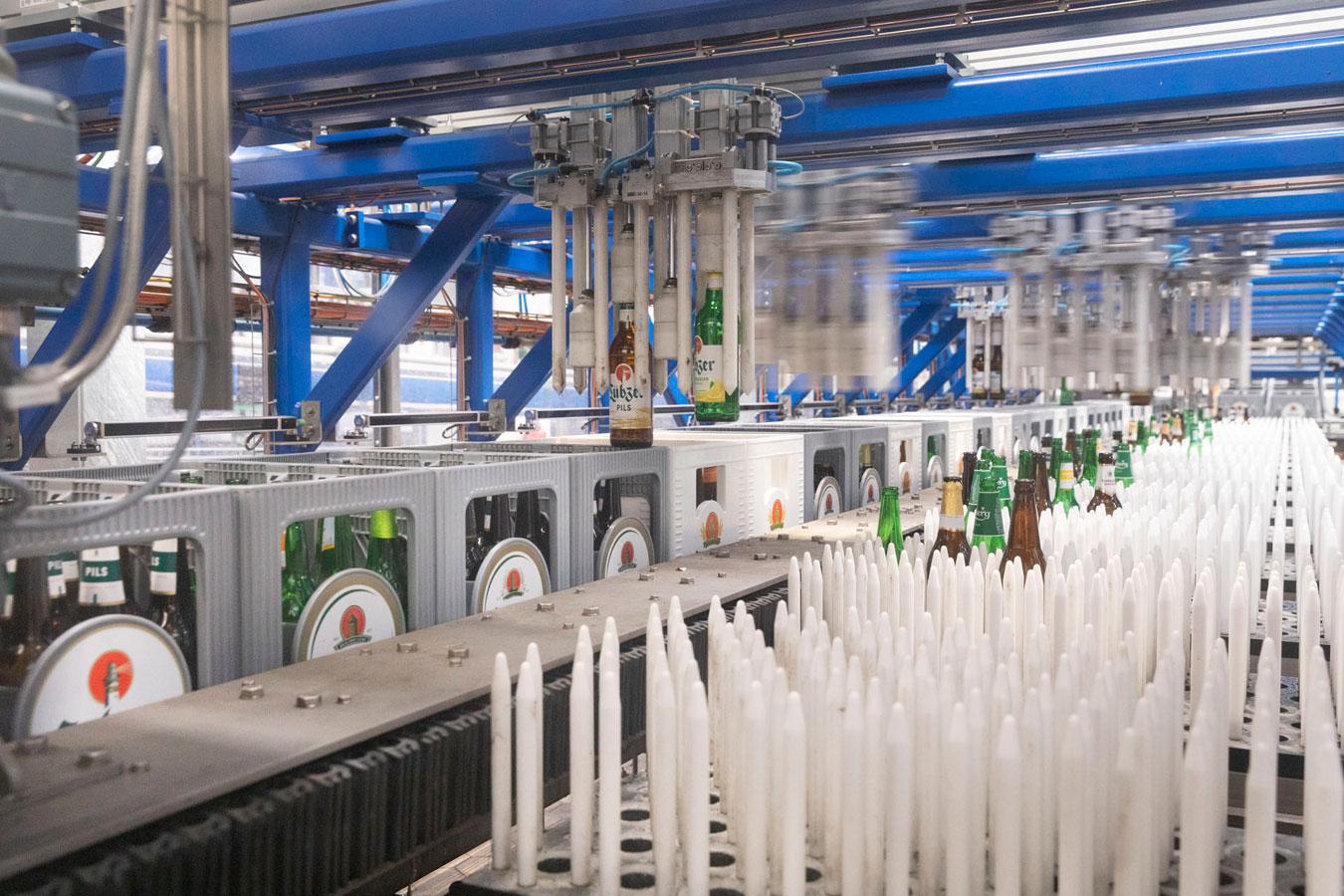 sorting roboter holsten brewery